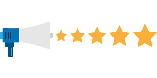 feedback 5 star rating