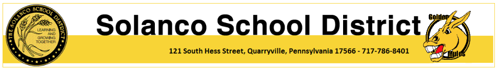 Solanco School District Info