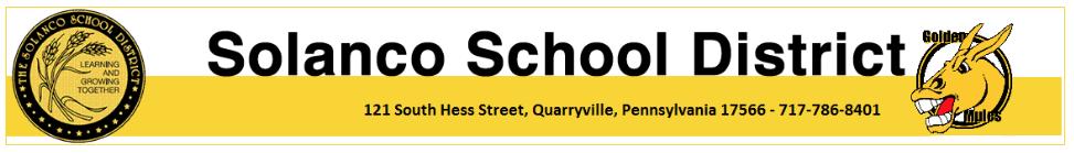 Solanco School District Info