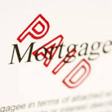 paid off mortgage image