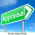 sign showing word appraisal