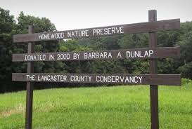 Homewood Nature Preserve sign